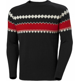 Helly Hansen Wool Knit Sweater Mężczyźni, black